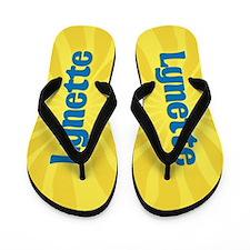 Lynette Sunburst Flip Flops