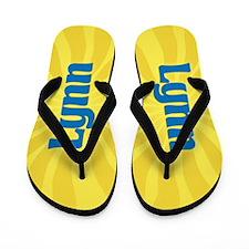 Lynn Sunburst Flip Flops