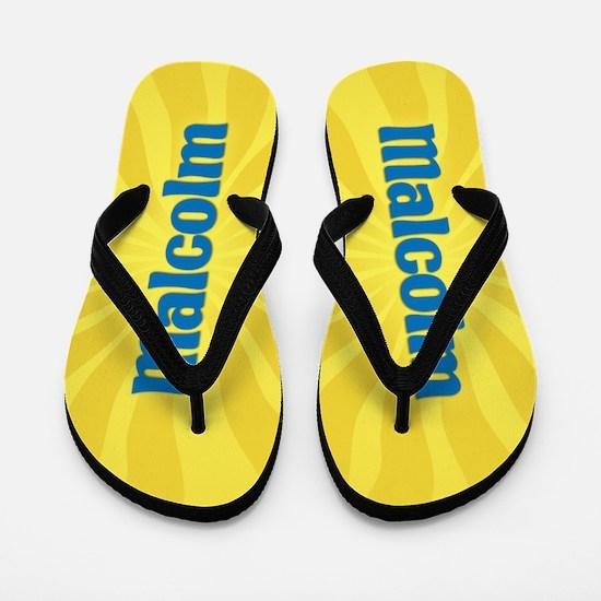 Malcolm Sunburst Flip Flops