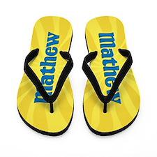 Mathew Sunburst Flip Flops