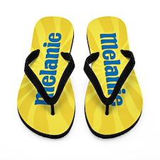 Melanie Sunburst Flip Flops
