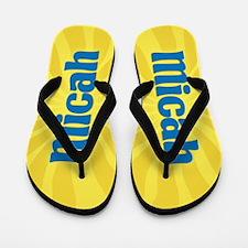 Micah Sunburst Flip Flops