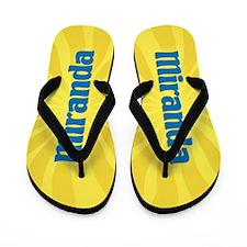 Miranda Sunburst Flip Flops
