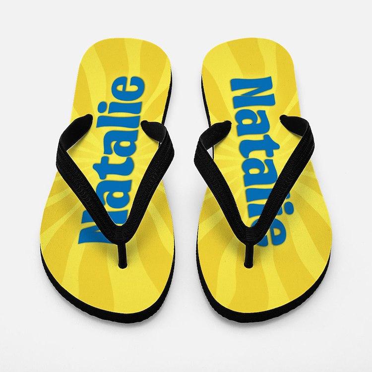 Natalie Sunburst Flip Flops