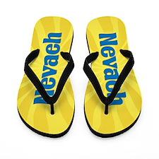 Nevaeh Sunburst Flip Flops