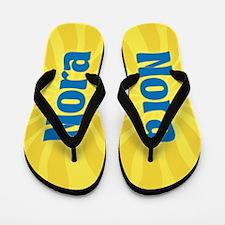 Nora Sunburst Flip Flops
