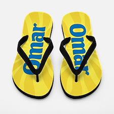 Omar Sunburst Flip Flops