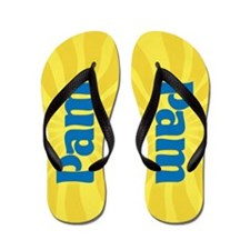 Pam Sunburst Flip Flops