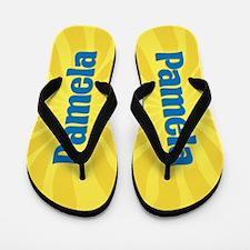Pamela Sunburst Flip Flops