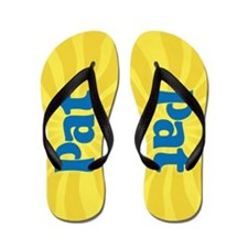Pat Sunburst Flip Flops