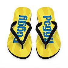 Peggy Sunburst Flip Flops