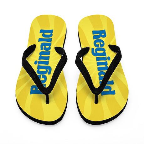 Reginald Sunburst Flip Flops