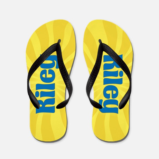 Riley Sunburst Flip Flops