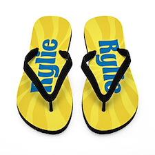 Rylie Sunburst Flip Flops