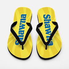 Shawna Sunburst Flip Flops