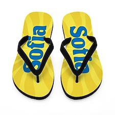 Sofia Sunburst Flip Flops