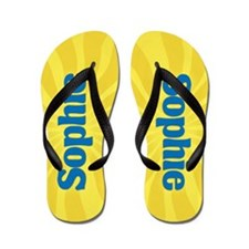 Sophie Sunburst Flip Flops
