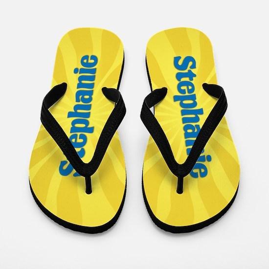 Stephanie Sunburst Flip Flops