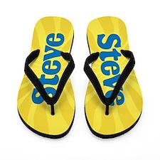 Steve Sunburst Flip Flops