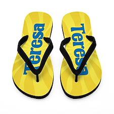 Teresa Sunburst Flip Flops