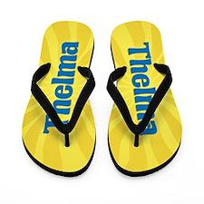 Thelma Sunburst Flip Flops