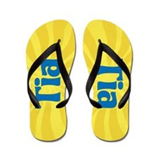 Tia Sunburst Flip Flops