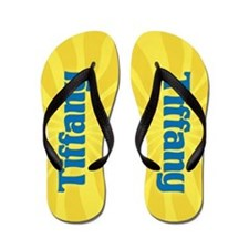 Tiffany Sunburst Flip Flops