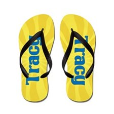 Tracy Sunburst Flip Flops