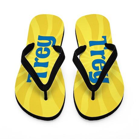 Trey Sunburst Flip Flops