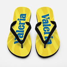 Valeria Sunburst Flip Flops