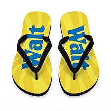 Walt Sunburst Flip Flops