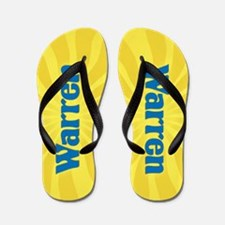 Warren Sunburst Flip Flops