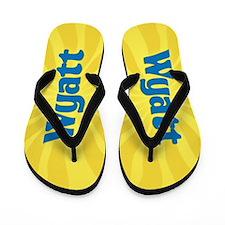 Wyatt Sunburst Flip Flops