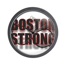 BOSTON STRONG Wall Clock