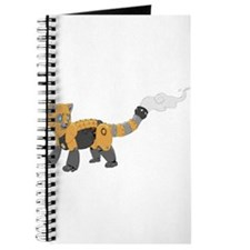Steampunk Red Panda Journal