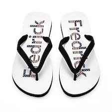 Fredrick Stars and Stripes Flip Flops