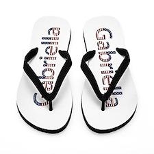 Gabriella Stars and Stripes Flip Flops