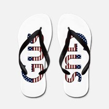Gus Stars and Stripes Flip Flops