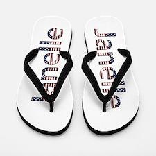 Janelle Stars and Stripes Flip Flops