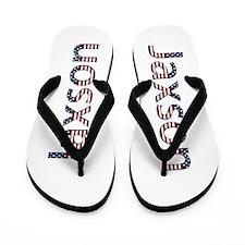 Jaxson Stars and Stripes Flip Flops