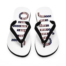 Julio Stars and Stripes Flip Flops