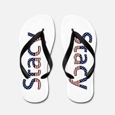 Stacy Stars and Stripes Flip Flops