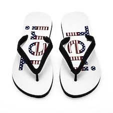 Teri Stars and Stripes Flip Flops