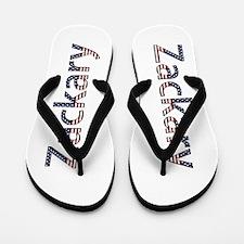 Zackary Stars and Stripes Flip Flops