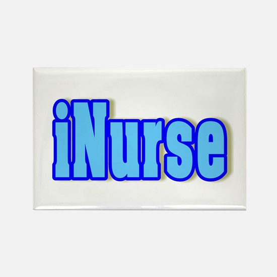Nurse iNurse Rectangle Magnet (10 pack)
