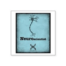 "Neuroscientist Square Sticker 3"" x 3"""