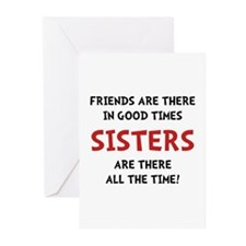 Sisters Time Greeting Cards (Pk of 20)