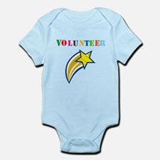 VOLUNTEER TWOSTARS DESIGN. STAR. Body Suit