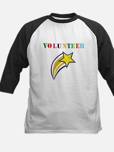 VOLUNTEER TWOSTARS DESIGN. STAR. Baseball Jersey