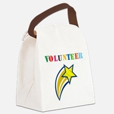 VOLUNTEER TWOSTARS DESIGN. STAR. Canvas Lunch Bag